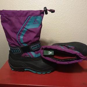 Kamik Snowcoast waterproof boots